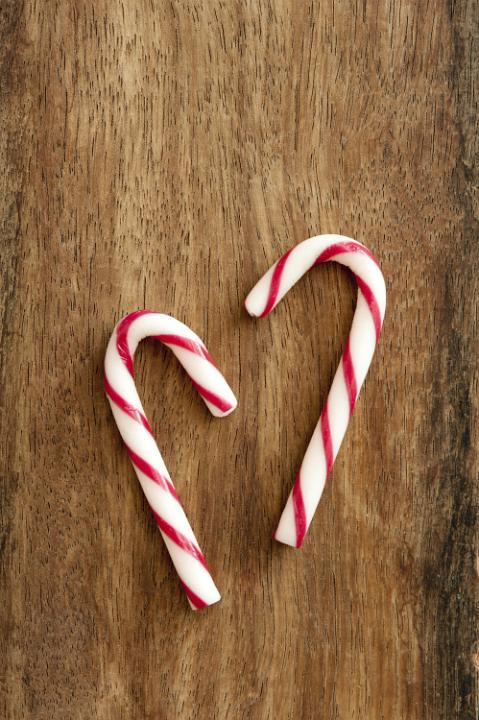 Photo Of Sweet Peppermint Candycanes Free Christmas Images