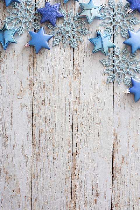 Christmas White Ornaments