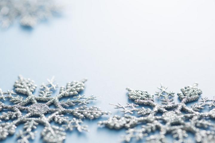 Blue Christmas Invitation