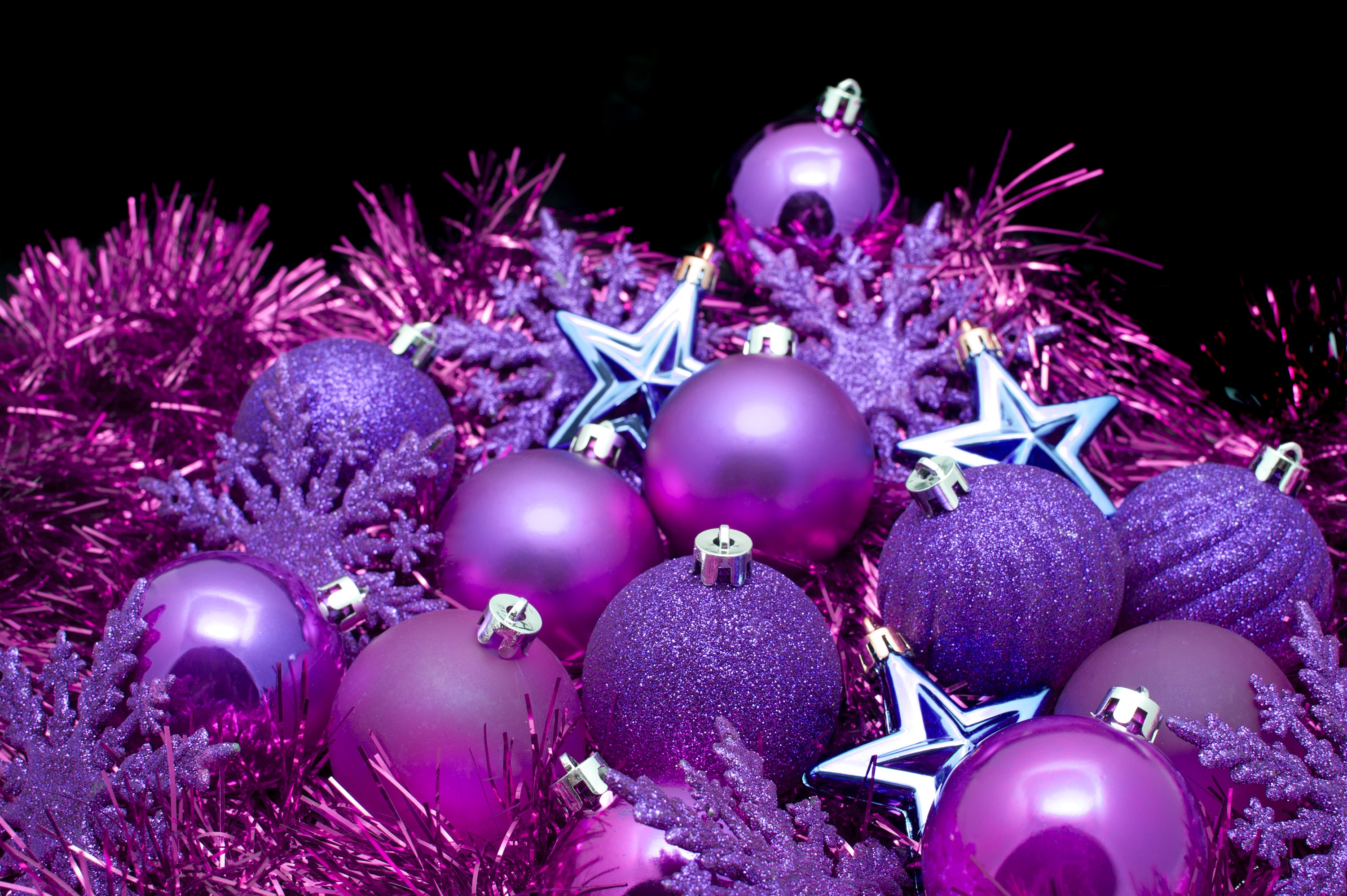 Photo of purple christmas decorations free christmas images for Decoration 3d free