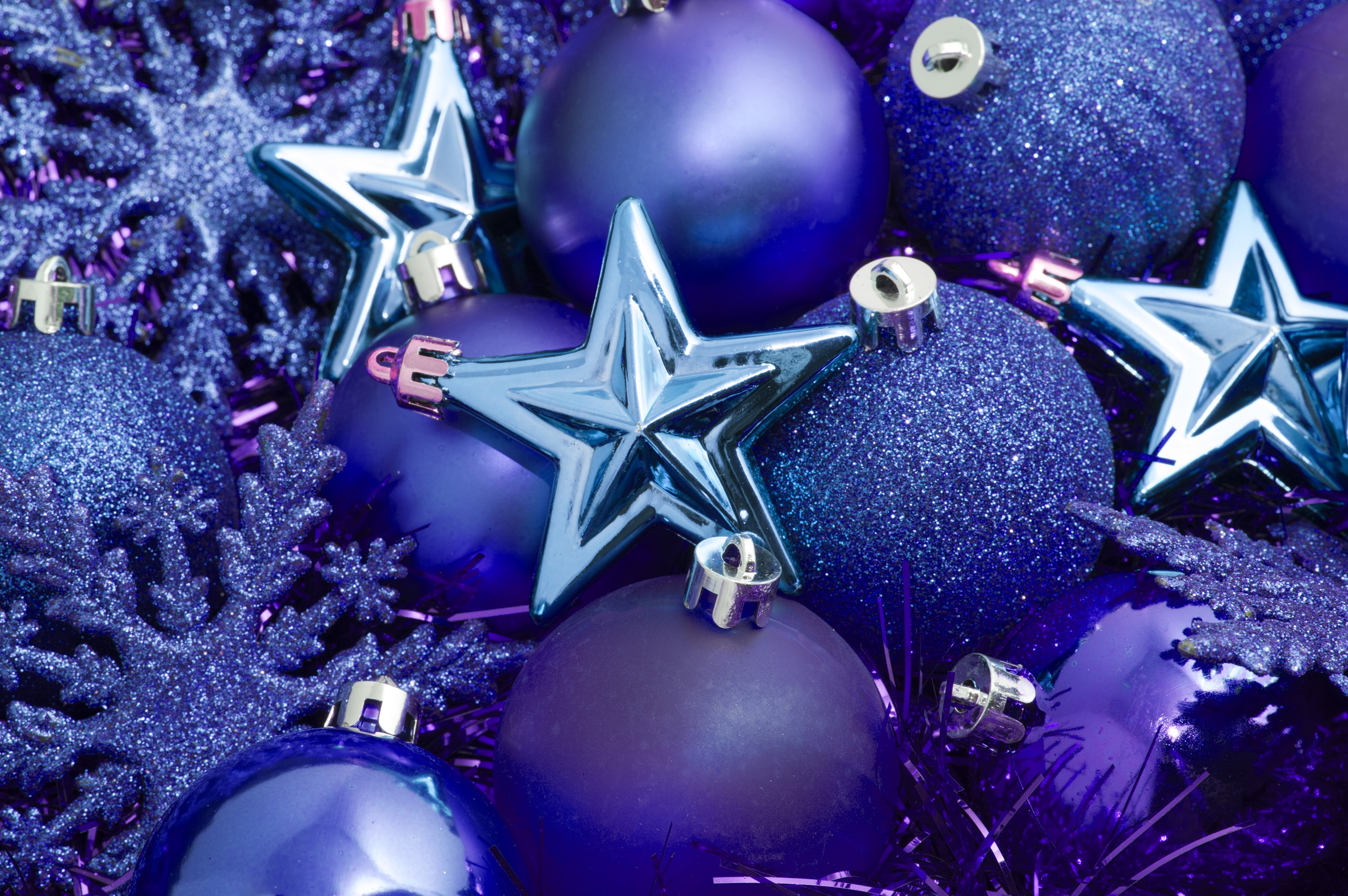 Photo of blue christmas decorations free christmas images - Is purple a christmas color ...