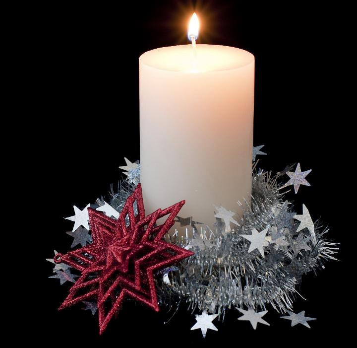 Candle Decoration At Home