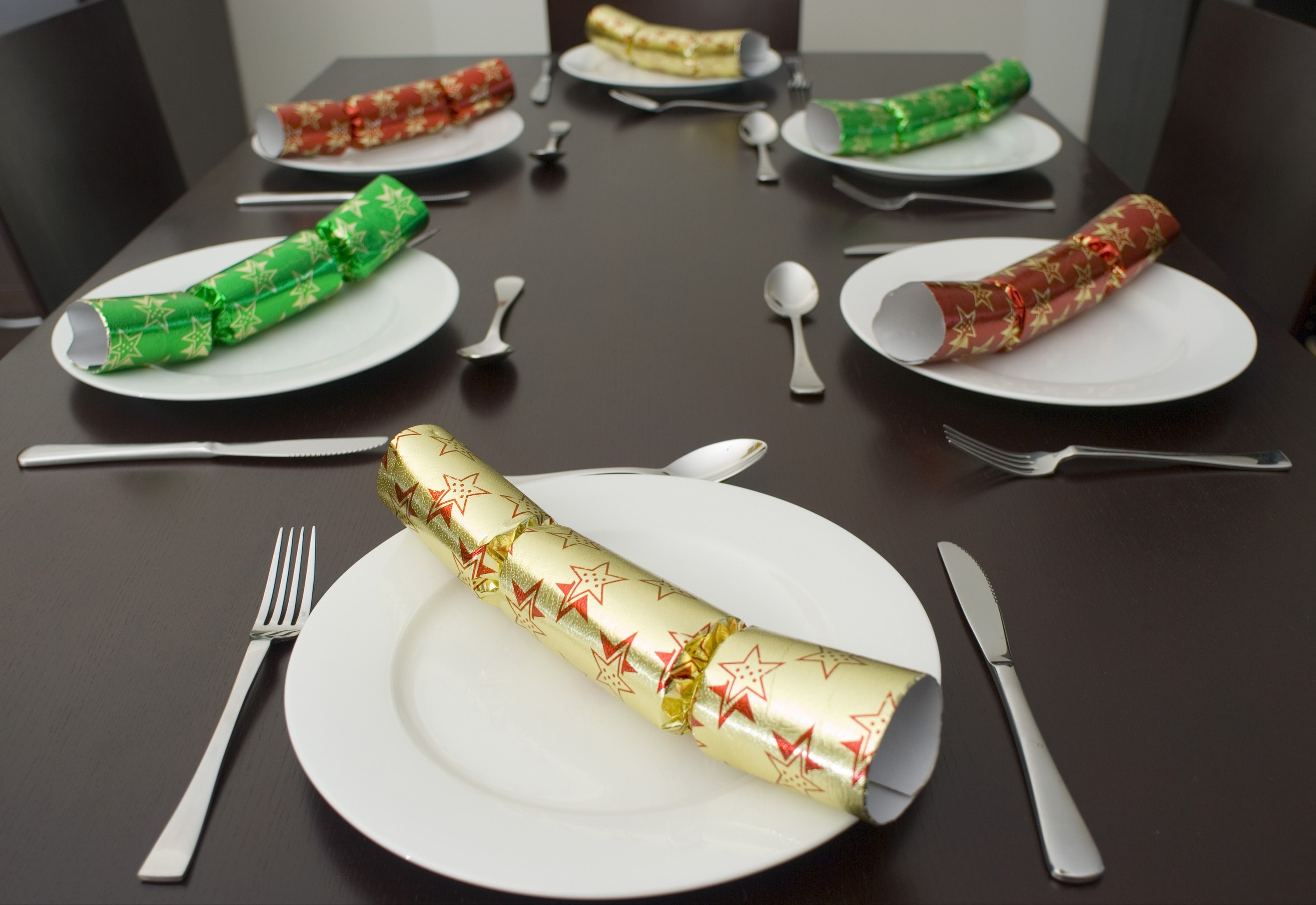 Photo Of Christmas Dining Table Free Christmas Images