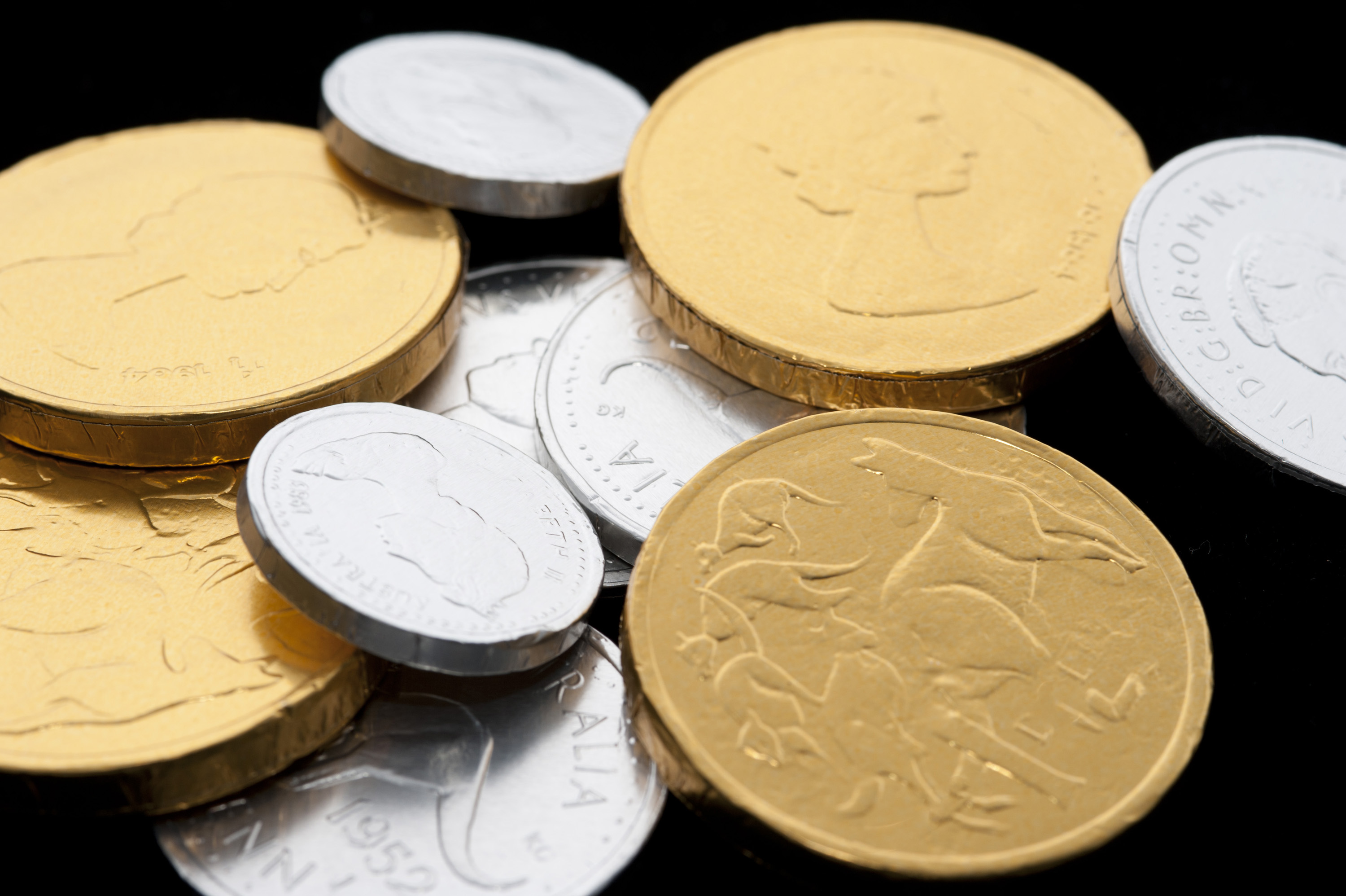 Chocolate Gold Coins by Palmer