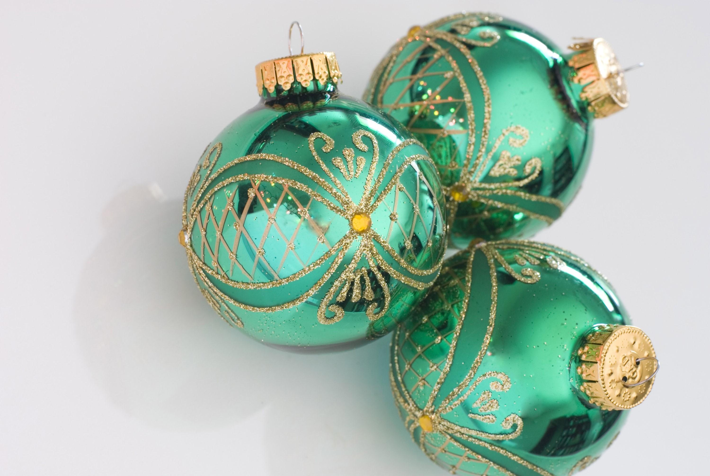 Plain Glass Baubles For Decorating