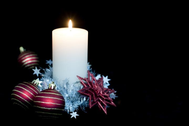 Photo Of Christmas Candle Backdrop Free Christmas Images