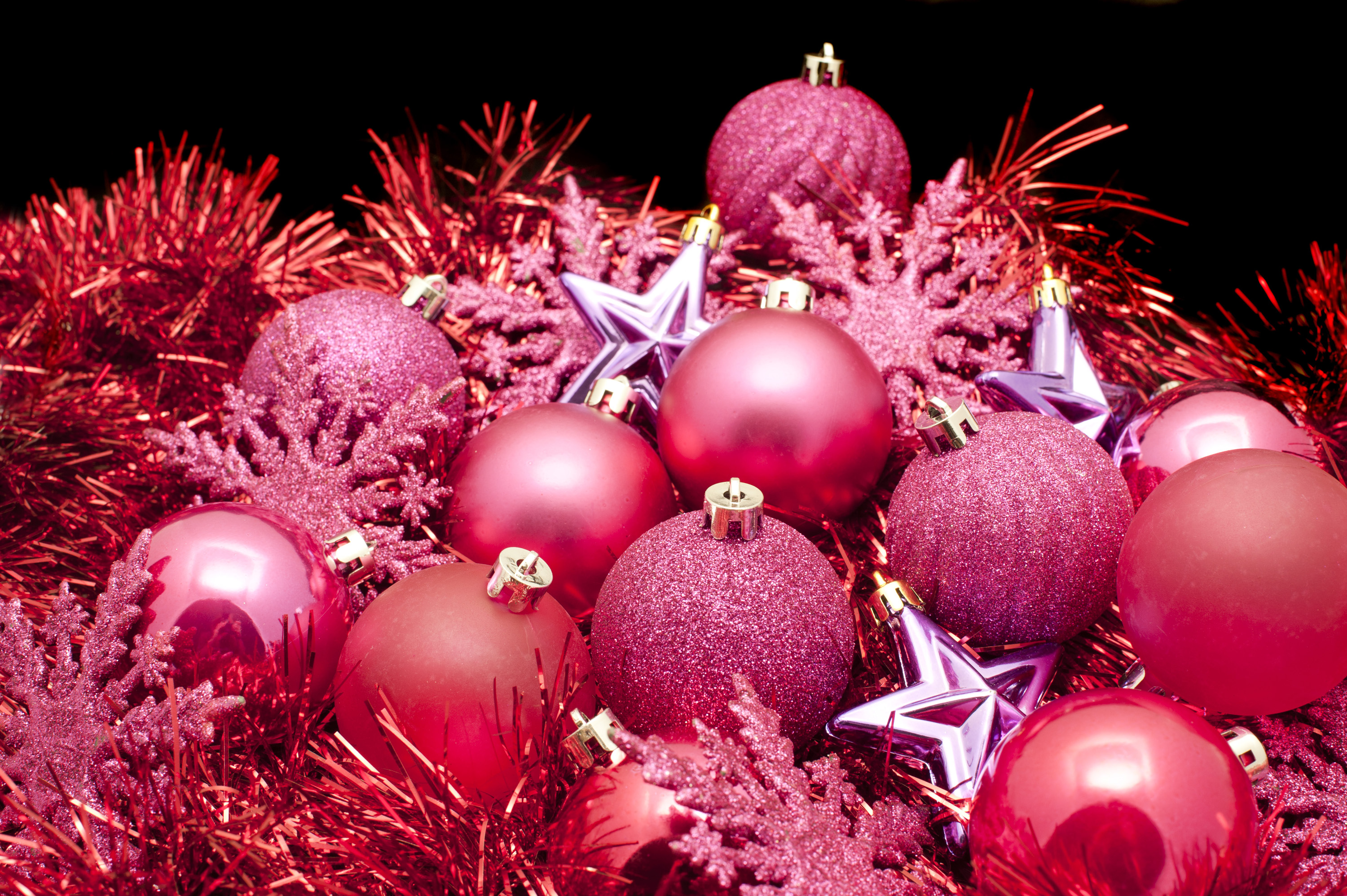Photo Of Red Christmas Decorations Free Christmas Images