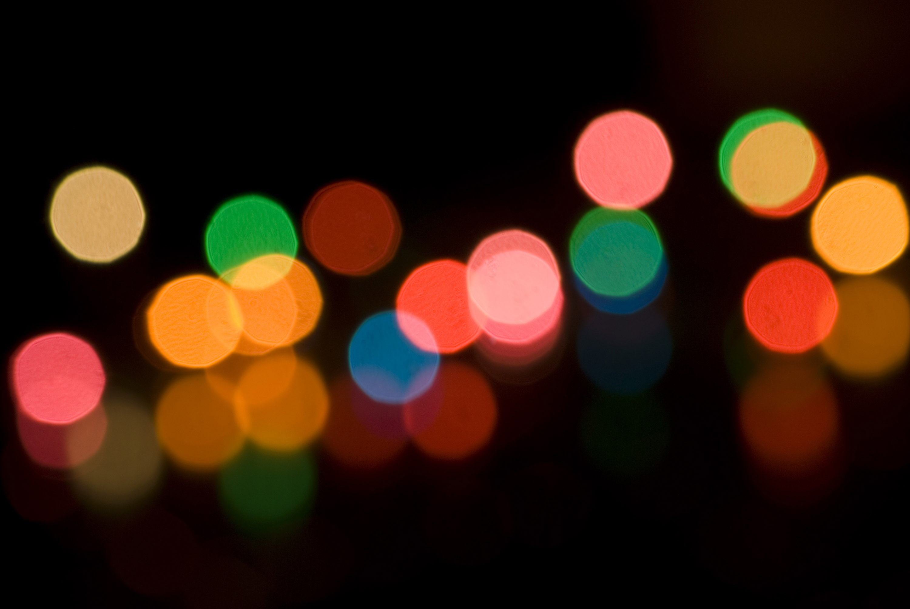 how to make blurry light pictures